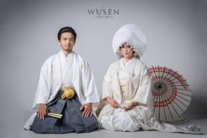 日式婚紗白無垢棚內拍攝
