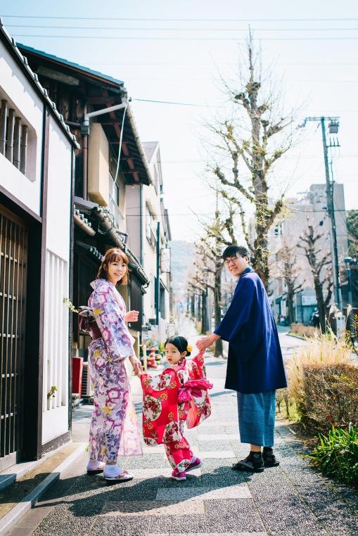 親子和服外拍,京都攝影師