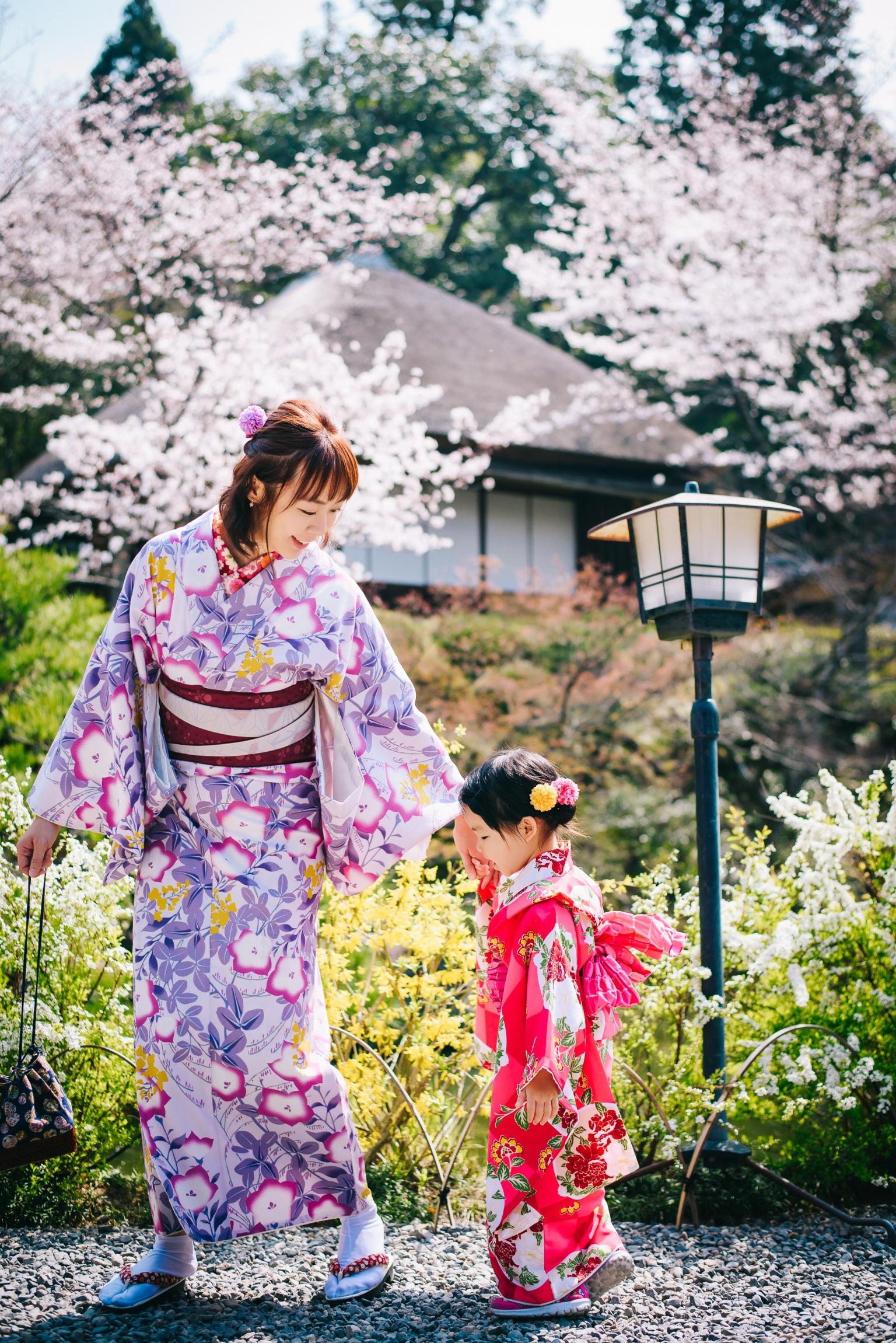 京都母女親子和服寫真