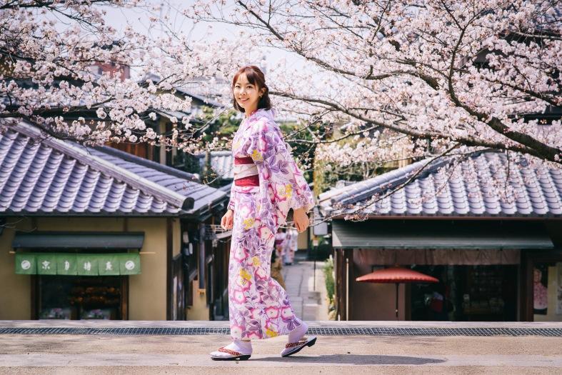 京都和服攝影師,櫻花浴衣寫真