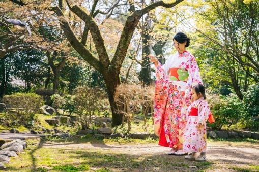 京都親子浴衣體驗拍照