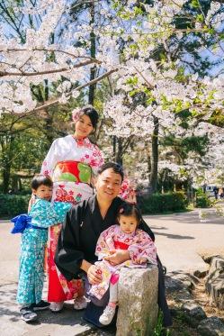 京都樱花浴衣体験,和服外拍摄影师