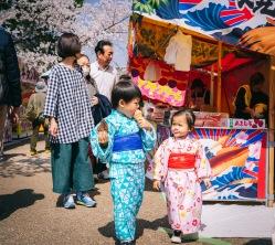 兒童和服外拍,京都櫻花祭
