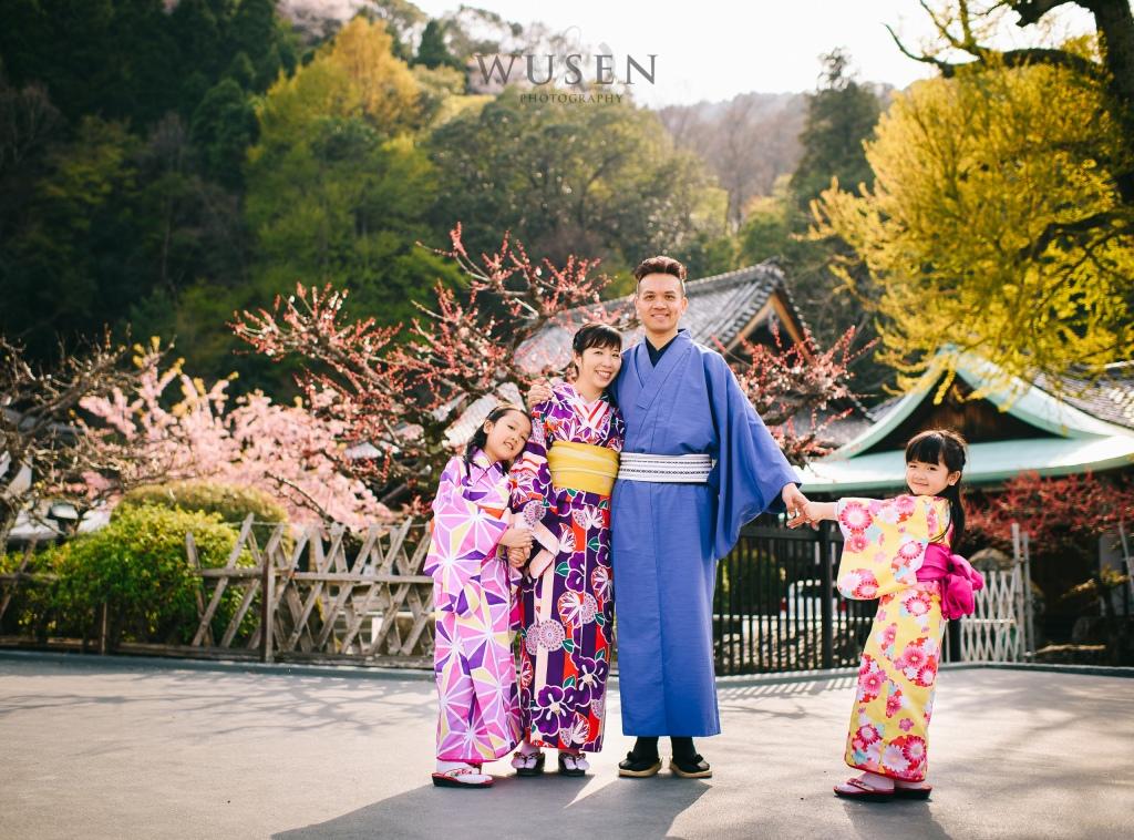 親子和服日誌,京都攝影師
