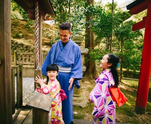 親子和服寫真,京都攝影師