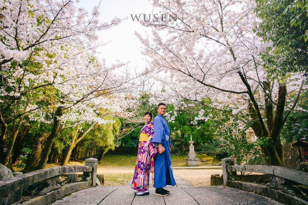京都和服婚紗攝影,嵐山和服,親子旅遊