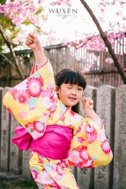 京都小人浴衣体験