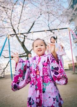 京都小人浴衣寫真外拍
