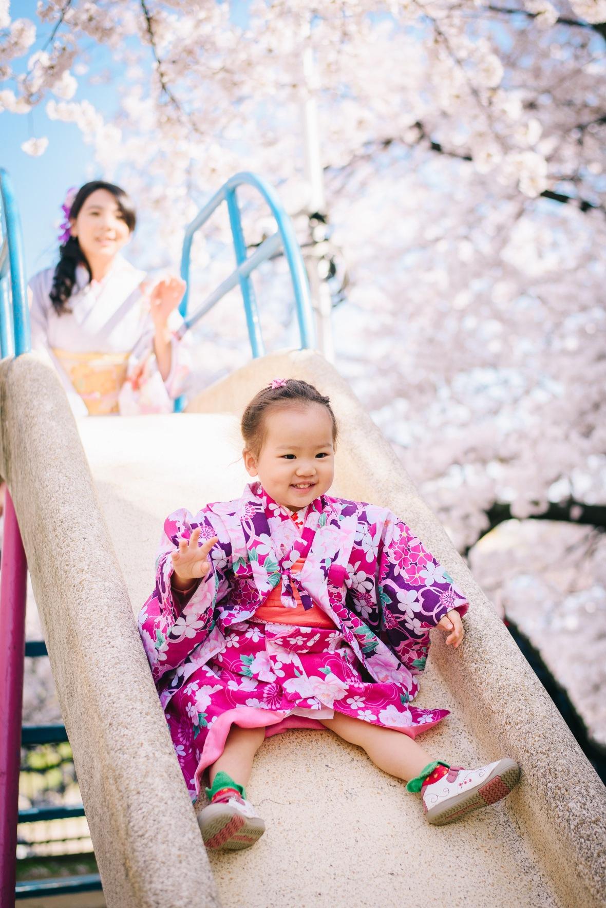 京都親子遊,和服外拍攝影師