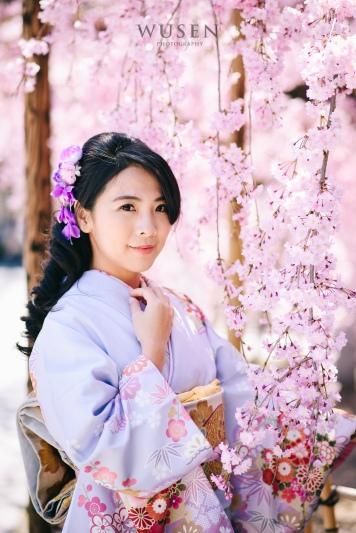 京都賞櫻花,和服租借