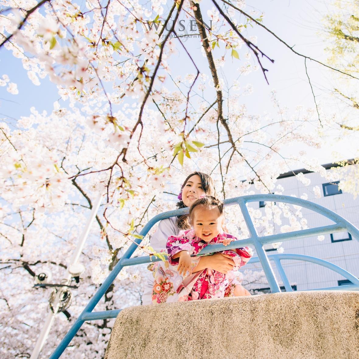 京都亲子浴衣写真外拍