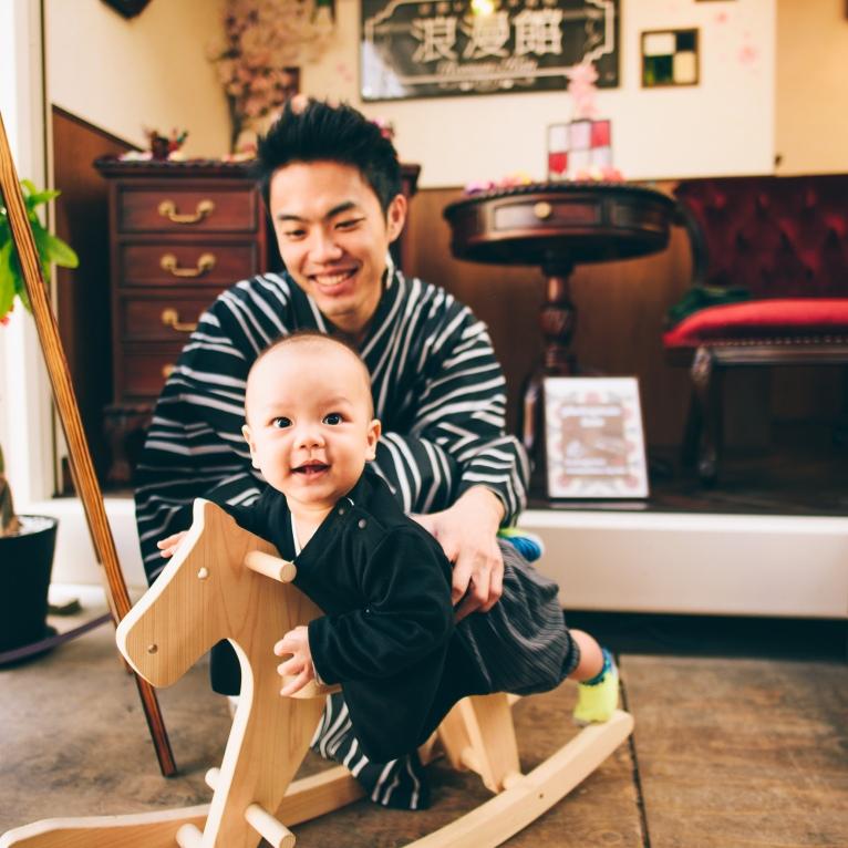 京都和服親子寫真