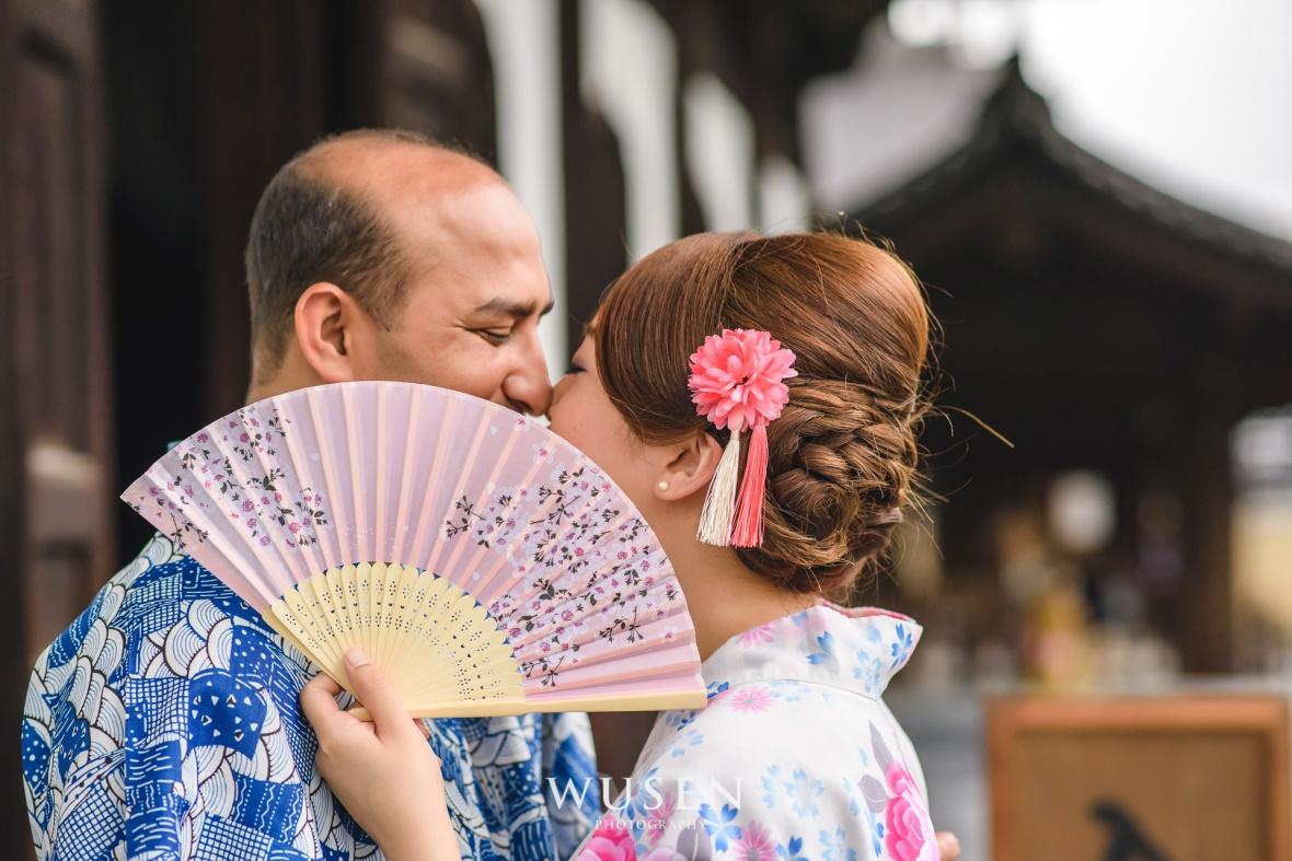 京都和服婚紗攝影師,浪漫和服