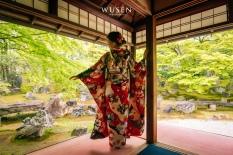 京都和服体验,日式庭院风情