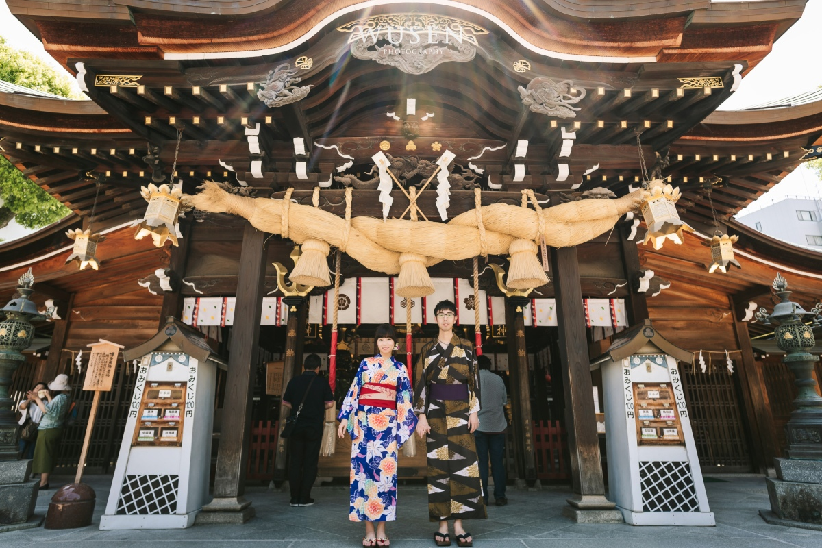 日本九州 福岡博多 和服攝影外拍 Fukuoka Kimono Photographer